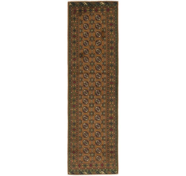 85cm x 300cm Afghan Akhche Runner Rug