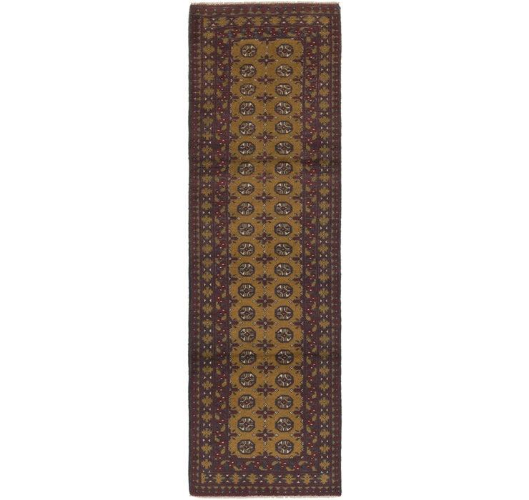 80cm x 290cm Afghan Akhche Runner Rug