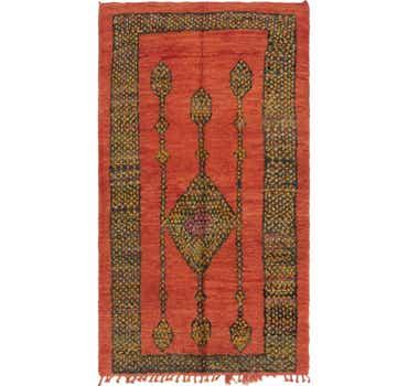Image of 6' 3 x 11' 3 Moroccan Runner Rug