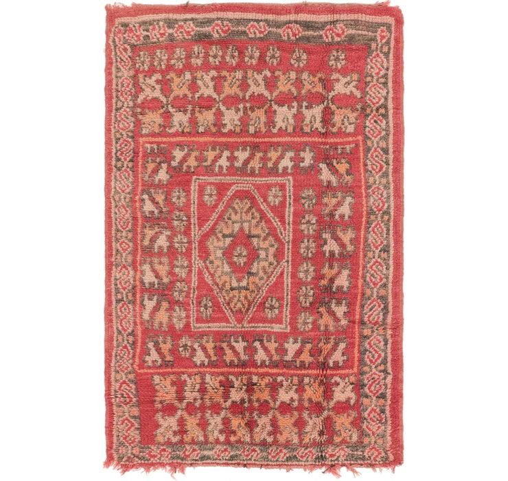 3' 5 x 5' 5 Moroccan Rug