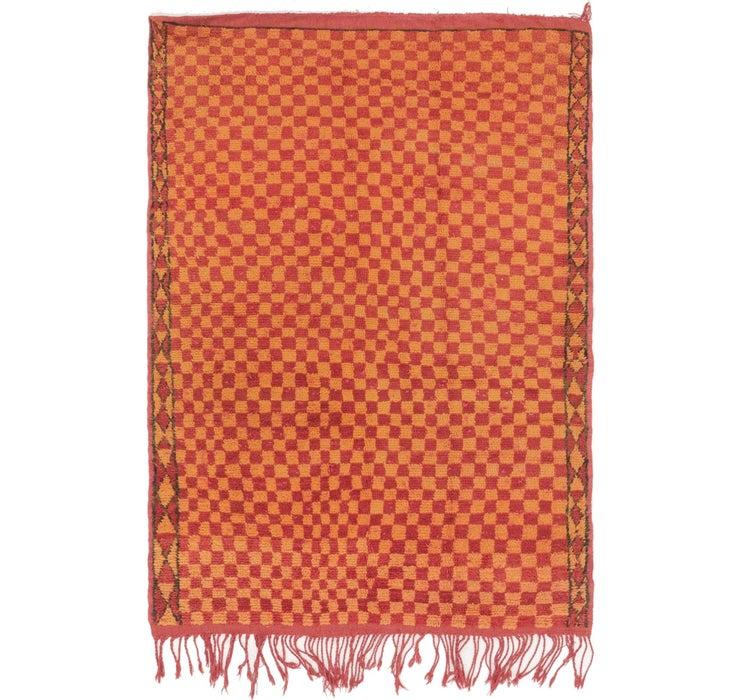110cm x 157cm Moroccan Rug