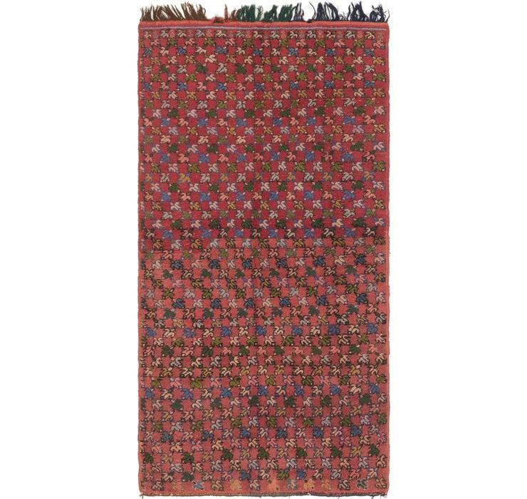 107cm x 213cm Moroccan Rug