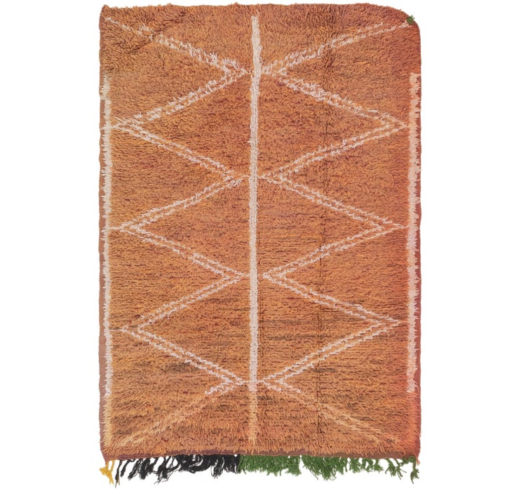 3' 6 x 5' Moroccan Rug