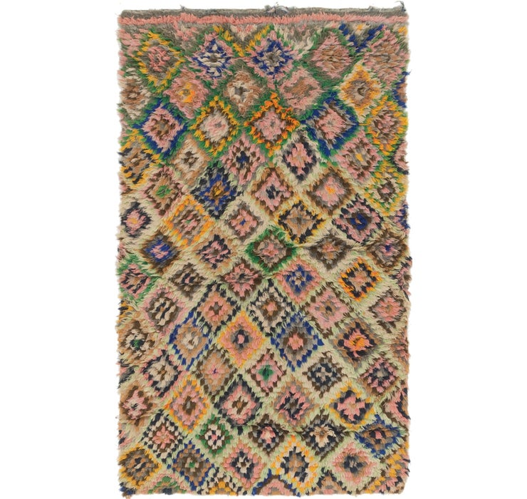 100cm x 168cm Moroccan Rug