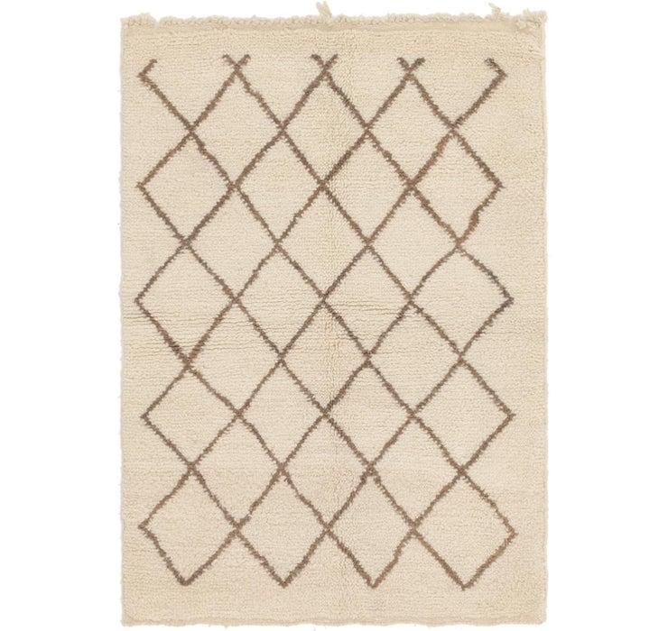 100cm x 137cm Moroccan Rug