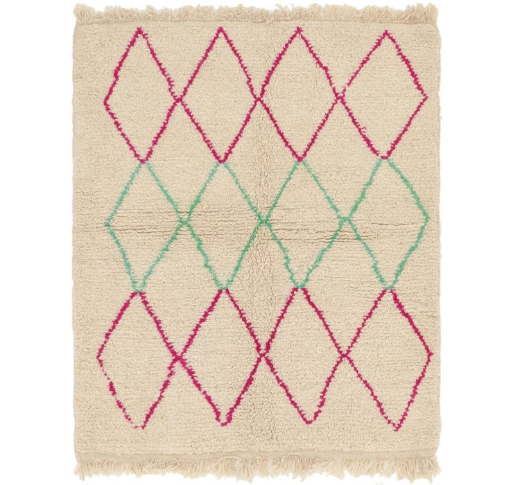 3' 9 x 4' 9 Moroccan Rug