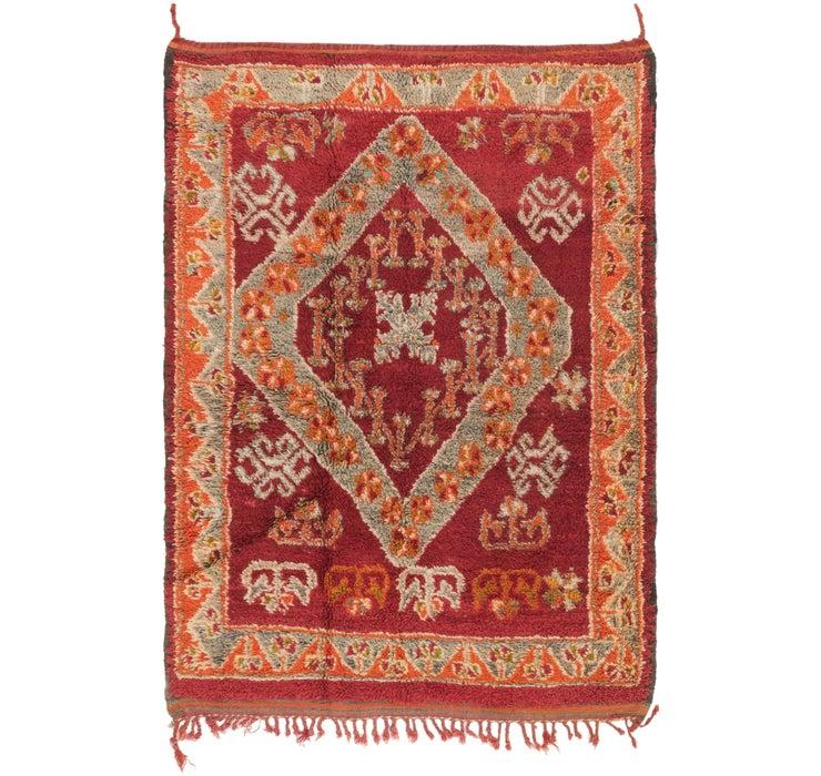 4' 3 x 6' Moroccan Rug
