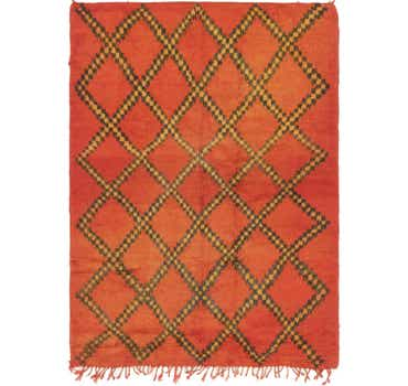 Image of  4' 7 x 6' 5 Moroccan Rug