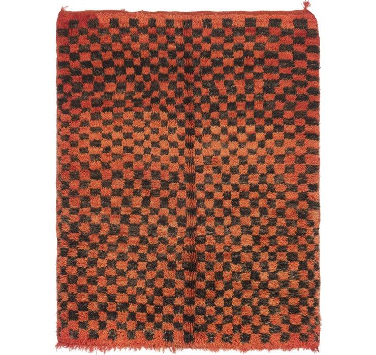 4' 9 x 6' 3 Moroccan Rug