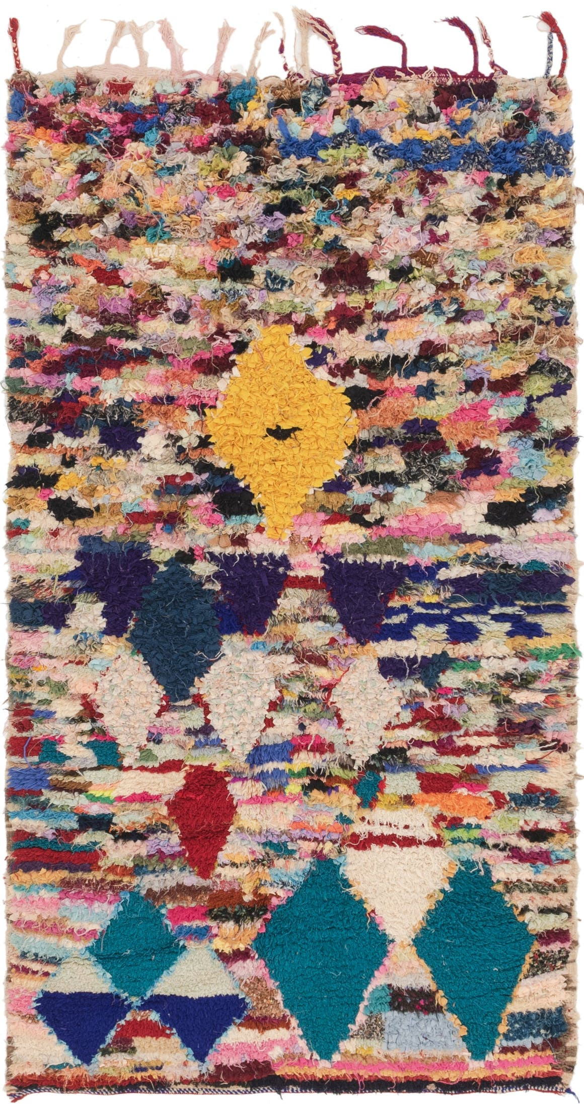 3' 10 x 7' 4 Moroccan Runner Rug main image