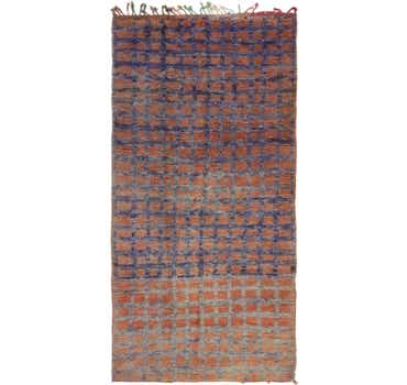 Image of 4' 4 x 8' 9 Moroccan Runner Rug