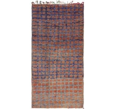 4' 4 x 8' 9 Moroccan Runner Rug main image