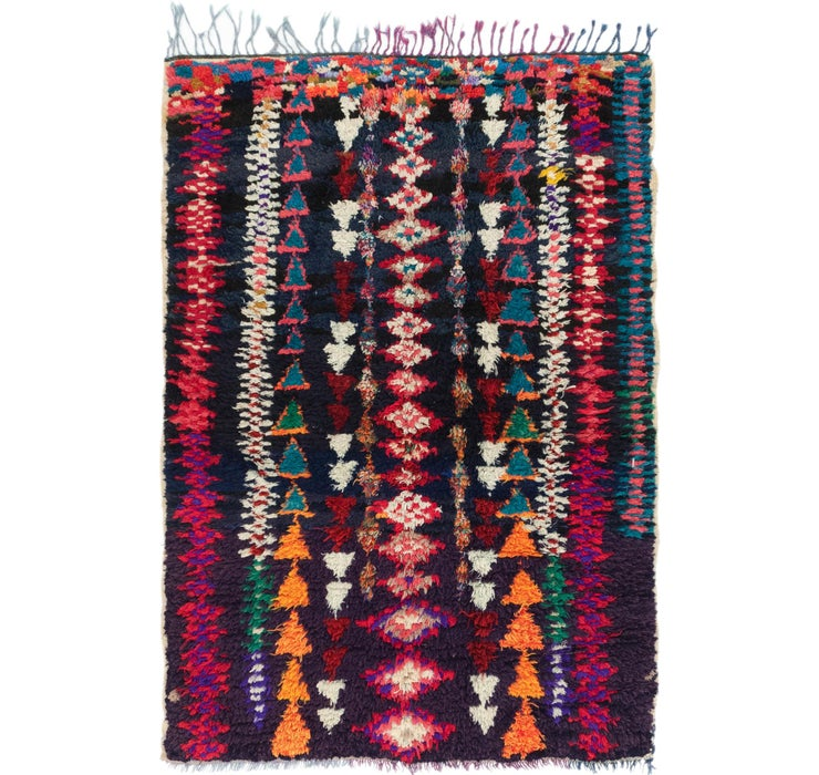 4' 5 x 6' Moroccan Rug