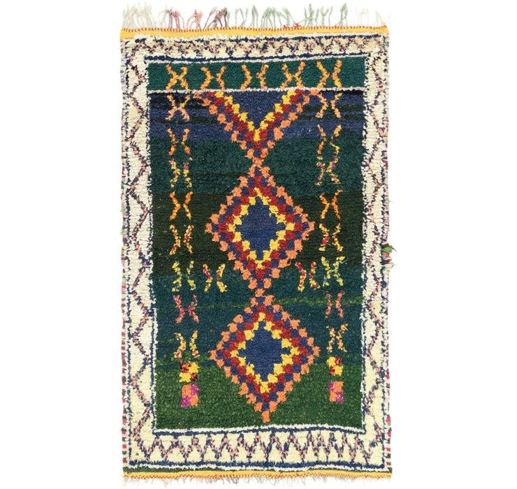 127cm x 200cm Moroccan Rug