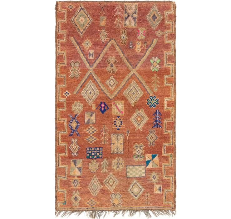 4' 10 x 8' 5 Moroccan Rug