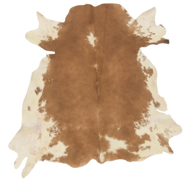 Image of 170cm x 188cm Cowhide Square Rug