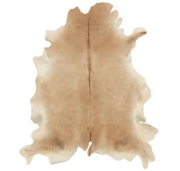 Image of 5' 4 x 6' 4 Cowhide Square Rug