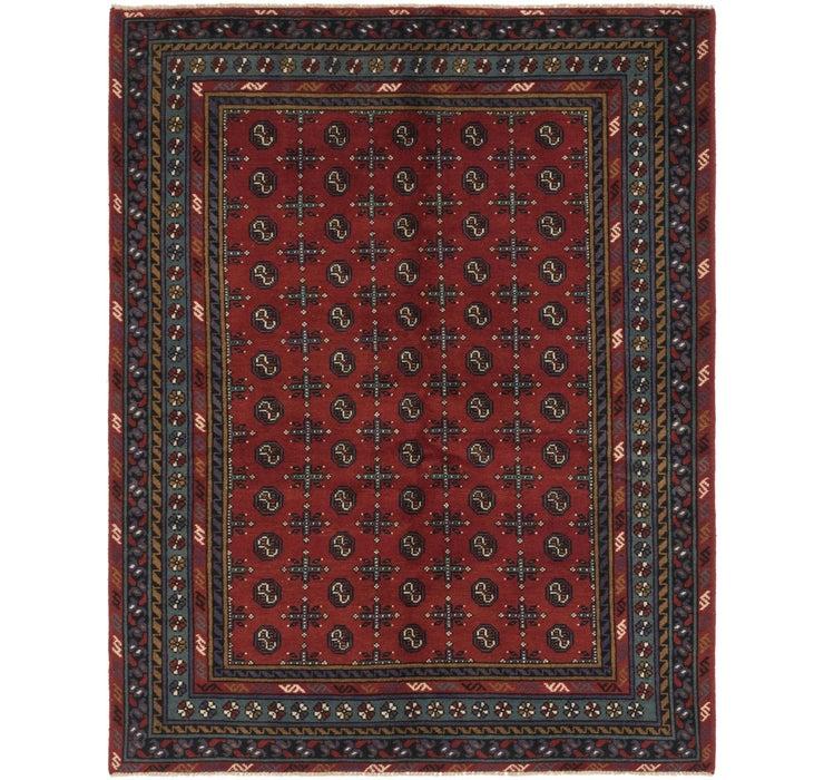 175cm x 225cm Afghan Akhche Rug