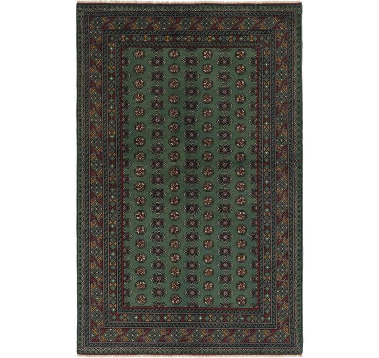 163cm x 245cm Afghan Akhche Rug