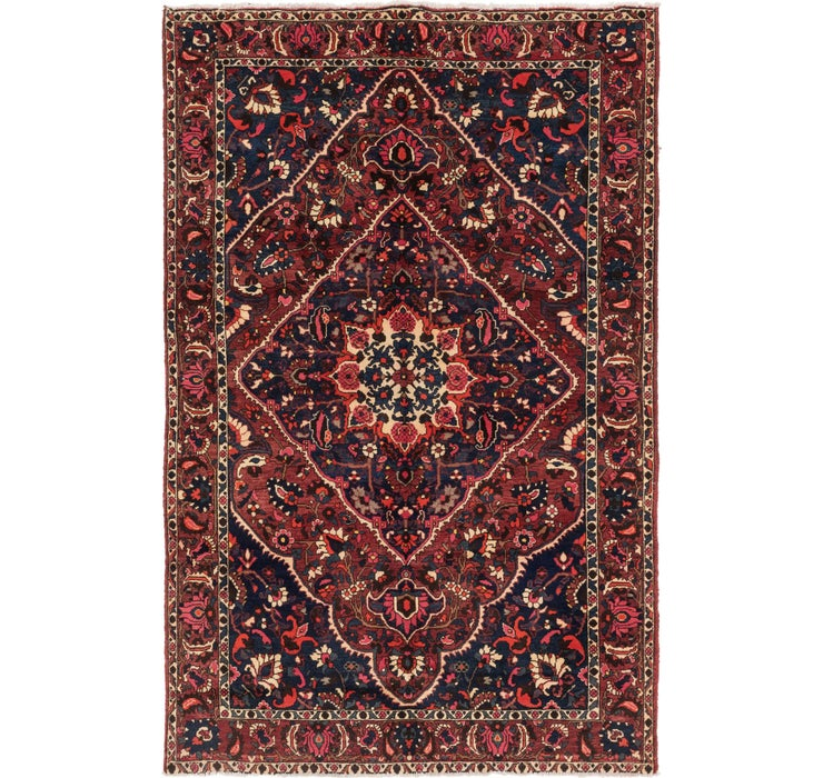 6' 10 x 10' 8 Bakhtiar Persian Rug