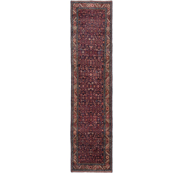 105cm x 435cm Hossainabad Persian Run...
