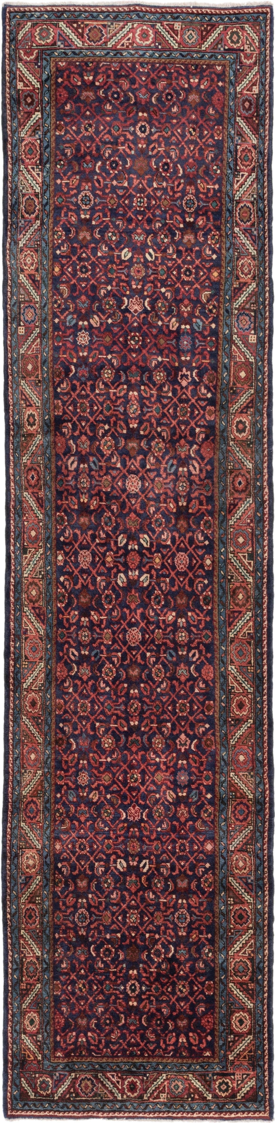 3' 5 x 14' 3 Hossainabad Persian Runner Rug main image
