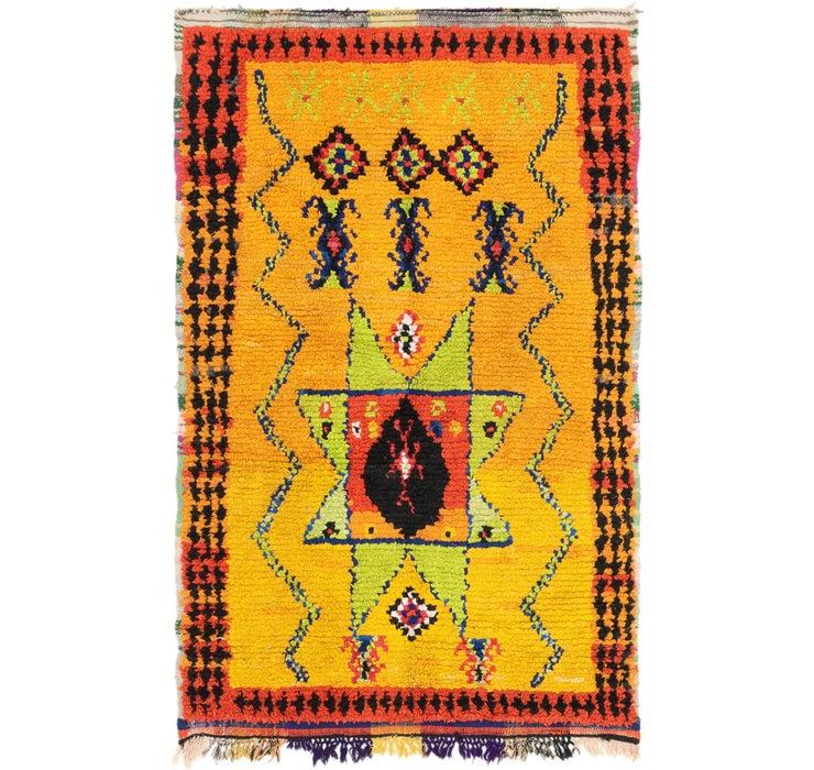 140cm x 213cm Moroccan Rug