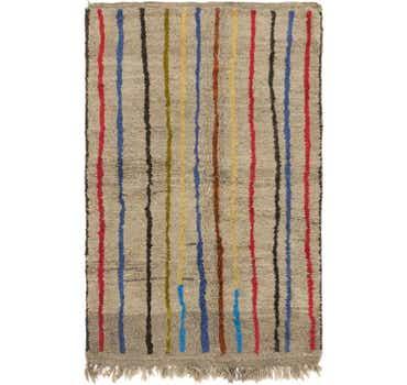 Image of 5' x 7' 9 Moroccan Rug