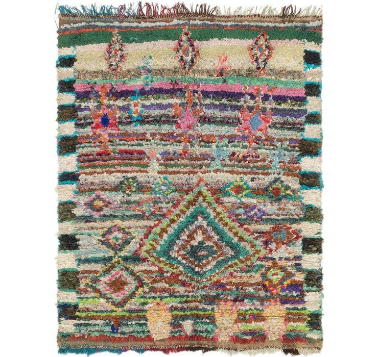 4' 7 x 6' Moroccan Rug