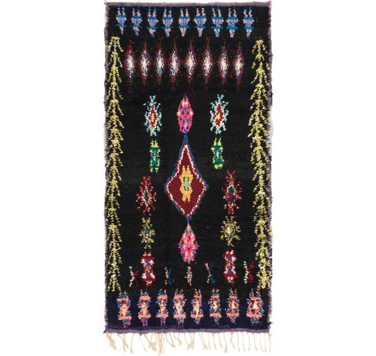 4' x 7' 6 Moroccan Rug