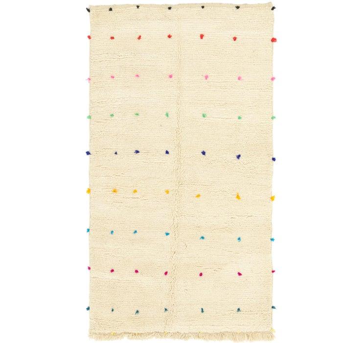 4' 9 x 8' 2 Moroccan Rug