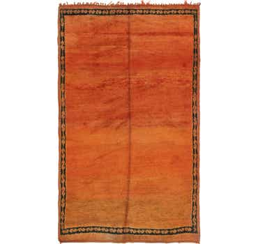Image of  5' 9 x 9' 4 Moroccan Rug