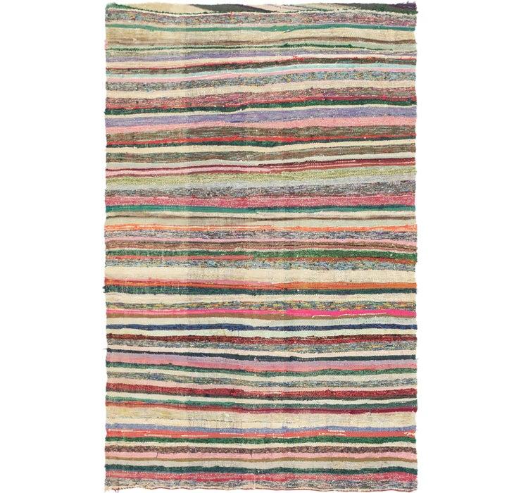 122cm x 190cm Moroccan Rug