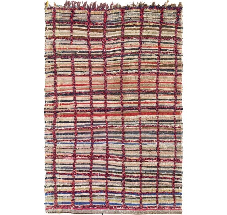 142cm x 218cm Moroccan Rug