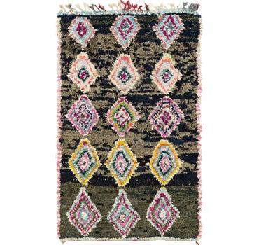 4' 7 x 7' 6 Moroccan Rug main image