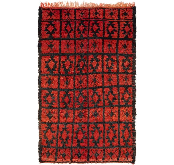 4' x 6' 8 Moroccan Rug