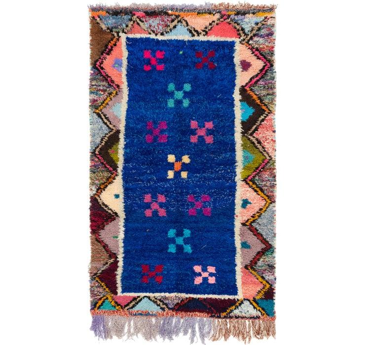 4' x 7' Moroccan Rug