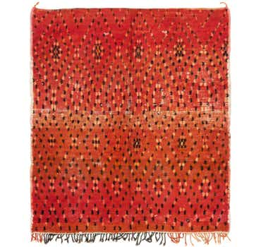 Image of 5' 4 x 6' 2 Moroccan Square Rug