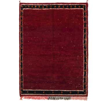 Image of  4' 10 x 6' 10 Moroccan Rug