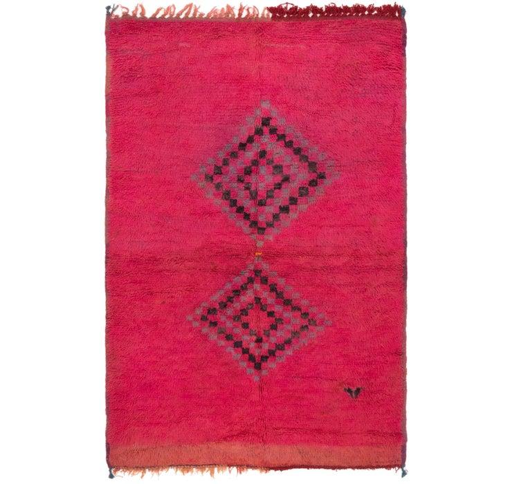 4' 4 x 6' 8 Moroccan Rug