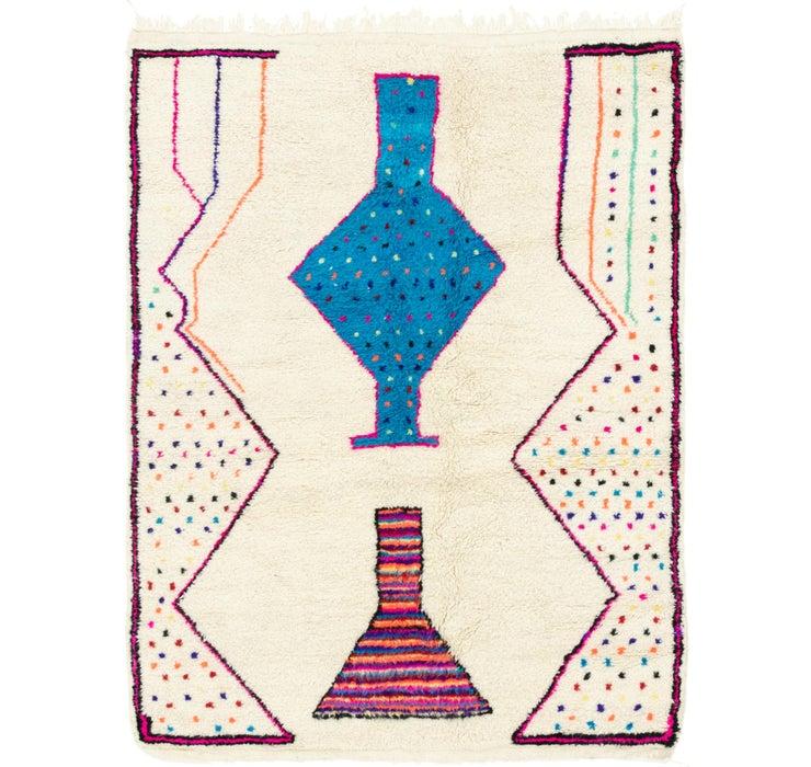 4' 10 x 6' 3 Moroccan Rug