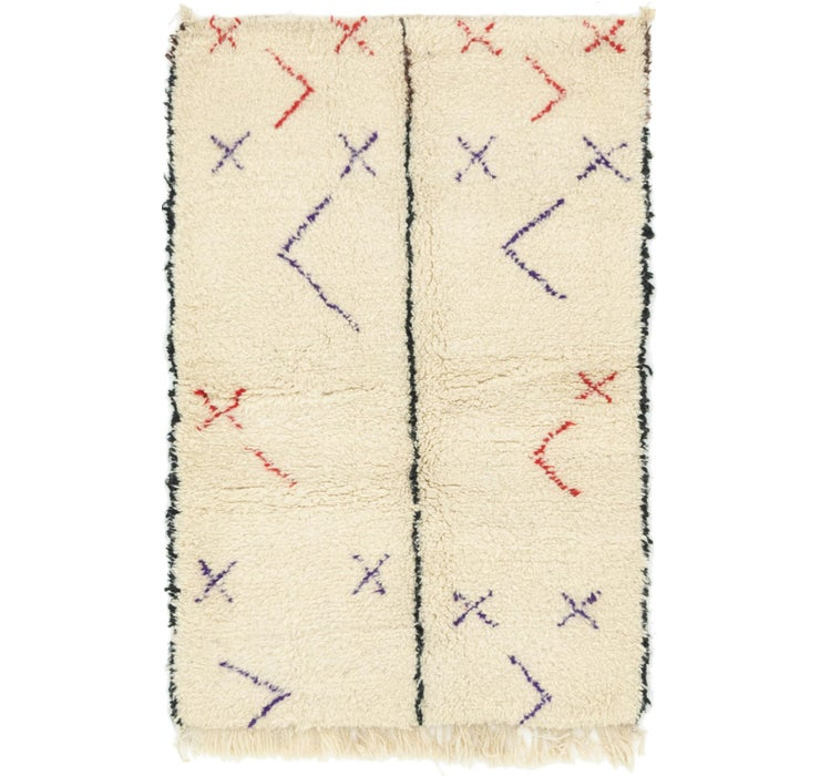 100cm x 157cm Moroccan Rug