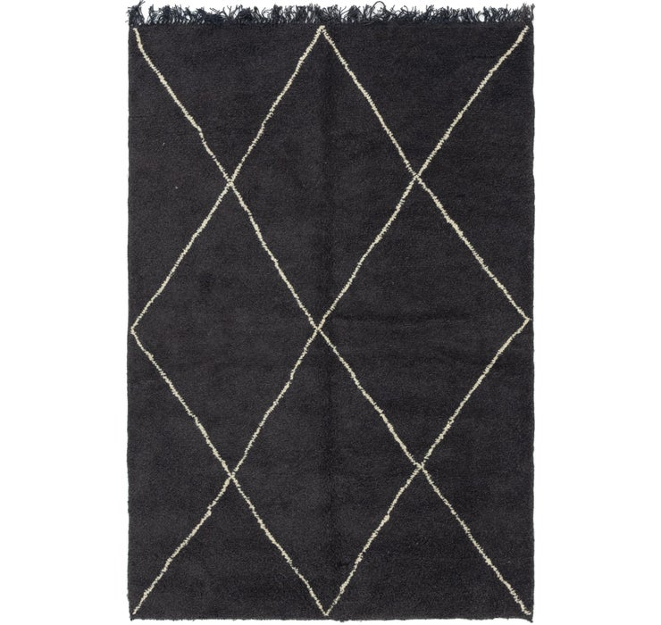 6' 6 x 9' 5 Moroccan Rug