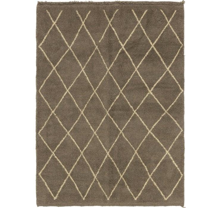 Image of 6' 10 x 9' 2 Moroccan Rug