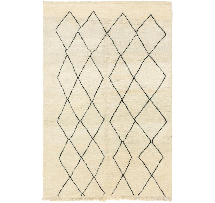 205cm x 312cm Moroccan Rug