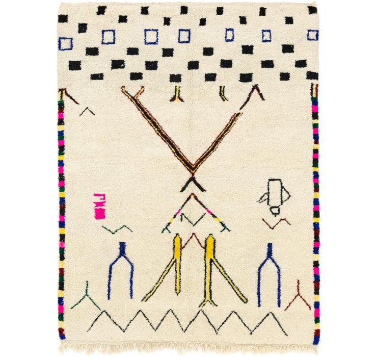 6' 10 x 9' 3 Moroccan Rug