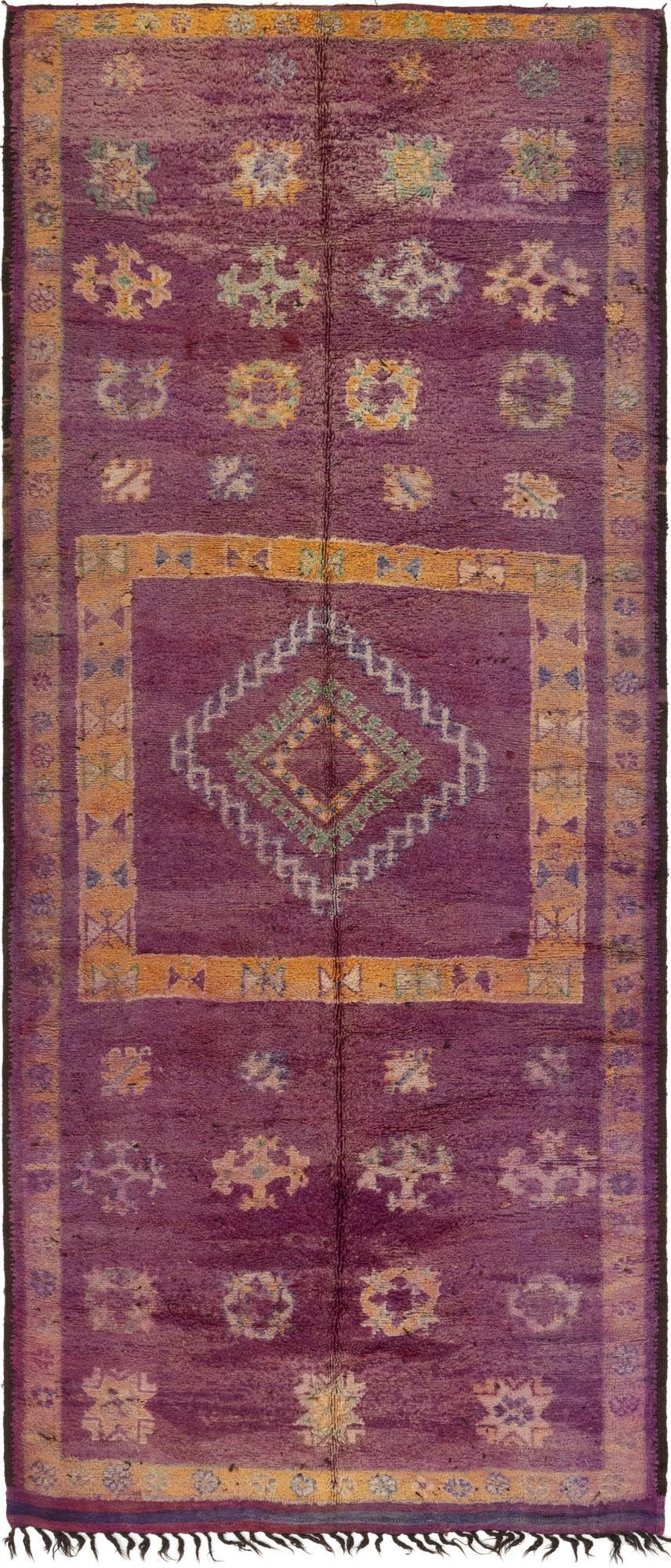 6' 6 x 15' 9 Moroccan Runner Rug main image