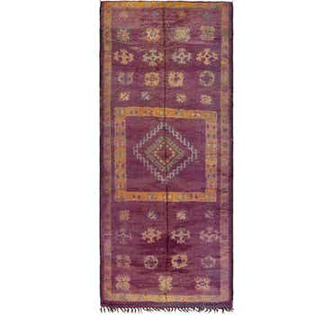 Image of 6' 6 x 15' 9 Moroccan Runner Rug