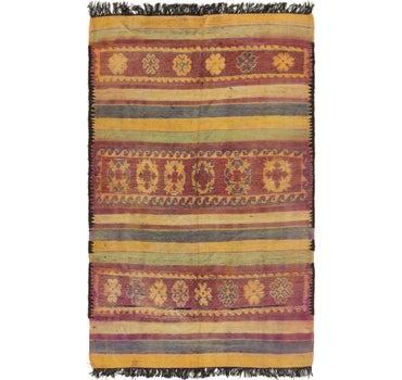 5' 9 x 10' Moroccan Runner Rug main image