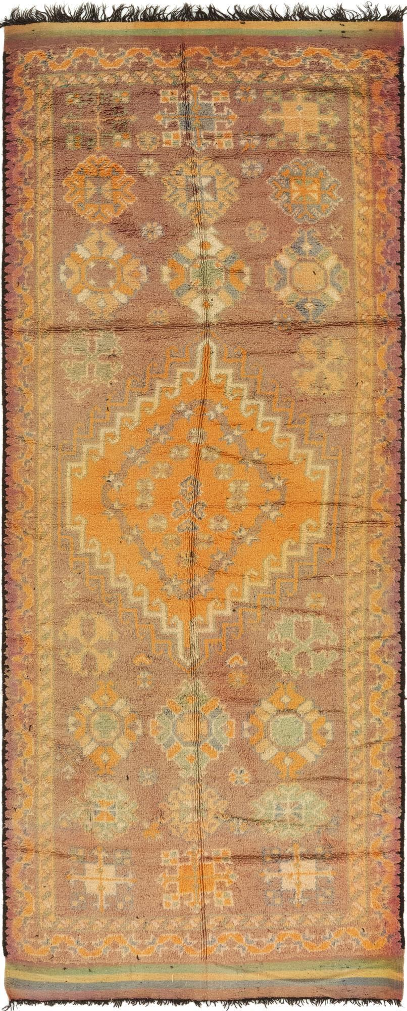 6' 3 x 16' 10 Moroccan Runner Rug main image